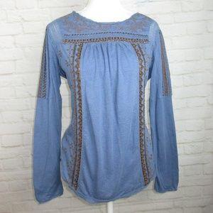 Sundance women's size M Embroidered Studded Tunic